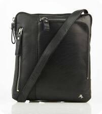 Modèle Roy Mesenger Sac en cuir sac à bandoulière tablette iPad Marron VISCONTI