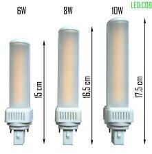 LED g24d 6W/8W/10W Ersatz Osram G24d-2 DULUX Ersatz Philips MASTER PL-C 2Pin
