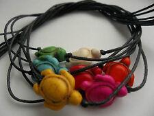 Black string tie on KARMASTRING bracelet anklet & turtle green pink red karma om