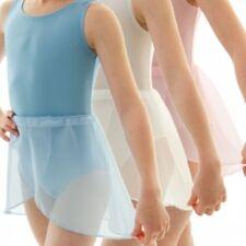 Chicas De Gasa Rad Georgette Envoltura En Ballet Falda corregido en la cintura Todos Los Colores