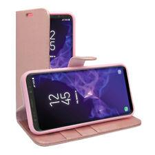 Per Samsung Galaxy S9 Wallet FLIP in Plus VARI COLORI COVER