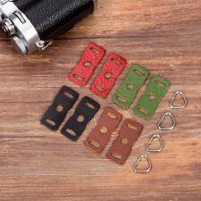 Camera Strap Triangle Lug Ring + Leather Cover for Sony Fujifilm Olympus Leica