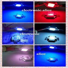 10W Cool Warm White Red Green Royal Blue UV IR 395nm-940nm LED Chip+ 12v Driver
