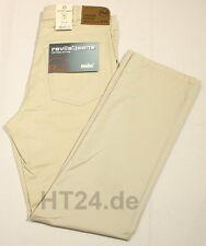 REVILS 342 V4801 Stretch Gabardine bis W50 hellbeige leicht Jeans-Look Überlänge