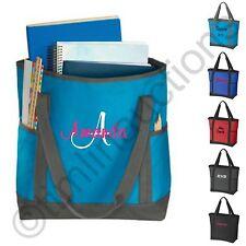 Personalized Tote Bag Teacher Nurse Gym Diaper Beach Travel Shopping Book Bag