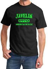 1970 AMC Javelin American Muscle Car Color Design Tshirt NEW Free Ship