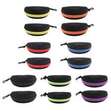 2x Waterproof Durable Hard Zippered Glasses Holder Sunglasses Eyeglass Case