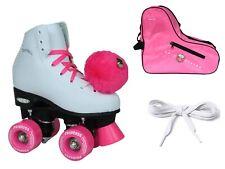 Epic Princess Twilight Pink Led Lighted Girls Indoor Outdoor Roller Skate Bundle