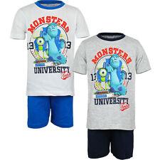Set Pijama Ropa de dormir niños monstruos Blanco Gris Azul Negro 98 104 116 128