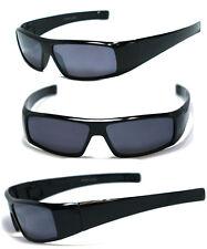 Men Women Wrap Around Sun Reader Sunglasses Reading Glasses Black Frame - SR14