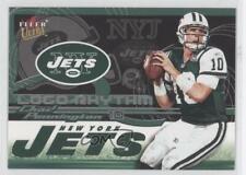2002 Fleer Ultra LOGO Rhythm #22LR Chad Pennington New York Jets Football Card