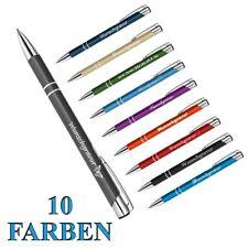 1 Metall Kugelschreiber mit Wunschgravur individuelle Wunsch Gravur ( 1001 )