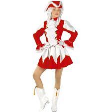 FUNKENMARIECHEN - rot/weiß- Damen Kostüm Tanzmariechen Garde Funken Uniform