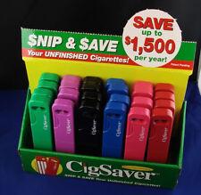 CigSaver Cigarette Saver w/ Cutter and Storage Case! Solid Construction, Instruc