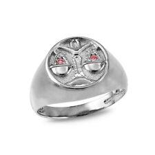 Sterling Silver Libra Zodiac CZ Ring