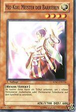 Yu-Gi-Oh 3x Mei-Kou, Meister der Barrieren - - - SDSC