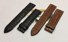 Cinturino coccodrillo per Eberhard Traversetolo 31051 solo spezzoni originali