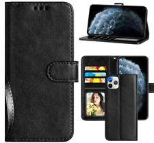 Coque pour iphone 11 / pro / pro max simili cuir Étui Housse rabat flip cover
