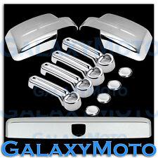 07-13 DODGE NITRO Chrome Mirror+4 Door Handle+Tailgate Liftgate Molding Cover