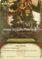 Warhammer Invasion - 2x Branded by Khorne  #093