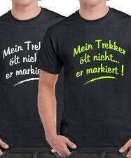 FUN T-SHIRT MEIN TREKKER... TRAKTOR Oldtimer Bauer Landwirt Spruch Sprüche