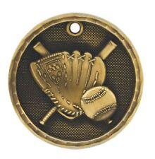 Baseball Medal Award Trophy Team Sports W/Free Lanyard FREE SHIPPING 3D201