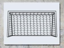 CALCIO Goal Net Fan Calcio Per Bambini Ragazzi Camera Da Letto Decalcomania Adesivo Muro Foto