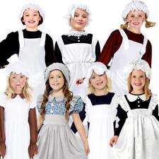 Victorian pauvres filles robe de fantaisie enfant Monde Livre jour personnage Kids Costume