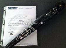 JOSE VALENTIN Game Used Mets Louisville Slugger TPX Genuine C271 Bat Steiner LOA