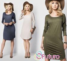 Ladies Versatile Shift Dress All Purpose Mini Dress Plus Sizes 8 - 18 FM11
