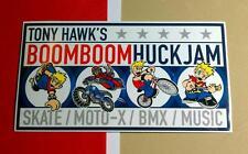 TONY HAWK'S BOOMBOOM HUCKJAM SKATE BMX MOTO -X BIKE Car Board MUSIC STICKER