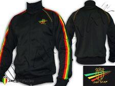 Veste Jacket Jaqueta Rasta Rastafari Jamaica Logo Brodé Jah Star Wear
