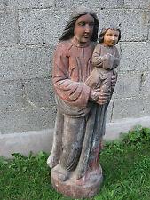"""Heiligenfigur """"Madonna mit Kind"""" Heilige Jesus Christus Höhe133cm"""