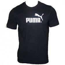 Puma Herren Large Logo T-Shirt schwarz [S-XL]