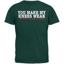 Leg Day Forest Green Adult T-Shirt