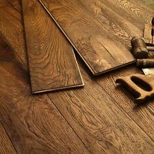 19CM Wide Medium Oak Oiled Distressed Antique Boards Engineered Flooring EC33