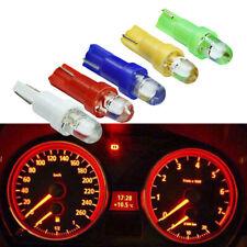 10PCS T5 LED Car Interior Dashboard Gauge Instrument Side Wedge Light Lamp Bulb