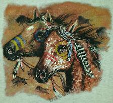 T-Shirt #249 Indian-Horse, Cowboy Pferd Rodeo Bull USA Quarter HORSE