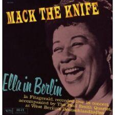 ELLA FITZGERALD - ELLA IN BERLIN  VINYL LP  9 TRACKS JAZZ LIVE CONCERT  NEW+