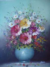 peinture signée rare unique huile toile libre art moderne contemporain 32x42 cm