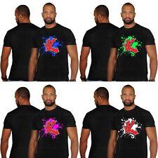 UNDERGROUND Kulture 'Splash' Negro Camiseta