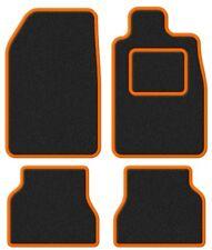 Peugeot Mpv 807 02-Super Terciopelo Negro/naranja Trim coche Mat Set
