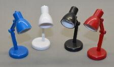 LED Leselampe Klemmleuchte Leseleuchte im Retro Look inkl. Batterien in vier Far