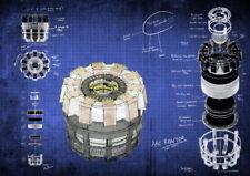 157709 Blue - Iron Man Arc Reactor Wall Print Poster CA