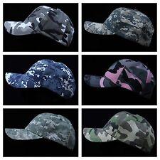 Men's Baseball Cap Adjustable Hat Camo Army Military Hat Hip Hop Fashion Casual