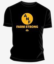 Black ANF Farm Strong Logo Tee Iowa Hawkeyes - Unisex Adult
