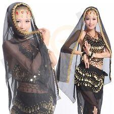 New Belly Dance Dancing Costume Chiffon Shawl Veil Scarf Dance Headscarf
