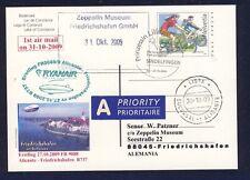 44528) Irland Ryanair FF Alicante - Frdhfn 31.10.09 Zeppelin NT ab Schweiz PZD
