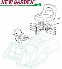 Vista desarrollada Asiento volante 102cm PT140 tractor podadora CASTELGARDEN