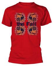 The Fall ' Mark Cuatro ' (Rojo) T-Shirt - Nuevo y Oficial
